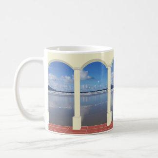 Caneca De Café Reflexões na praia irlandesa