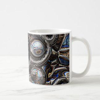 Caneca De Café Reflexões tridimensionais