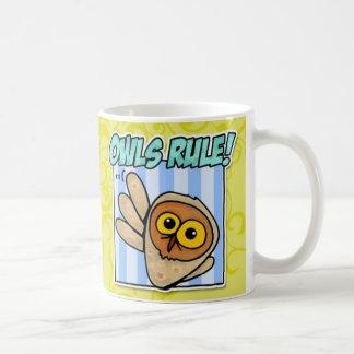 Caneca De Café regra das corujas