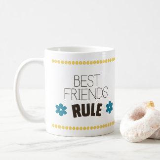 Caneca De Café Regra dos melhores amigos