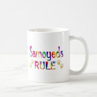 Caneca De Café Regra dos Samoyeds
