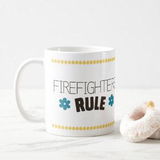 Caneca De Café Regra dos sapadores-bombeiros