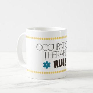 Caneca De Café Regra dos terapeutas ocupacionais
