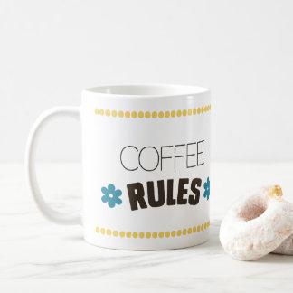 Caneca De Café Regras do café