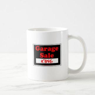 Caneca De Café Rei da venda de garagem