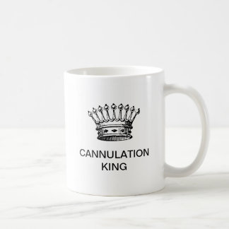 CANECA DE CAFÉ REI DO CANNULATION