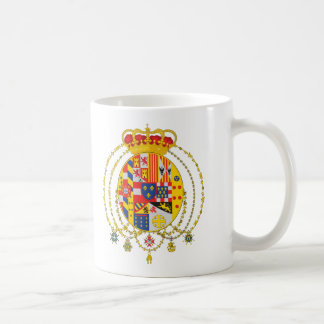 Caneca De Café Reino da brasão dois Sicilies