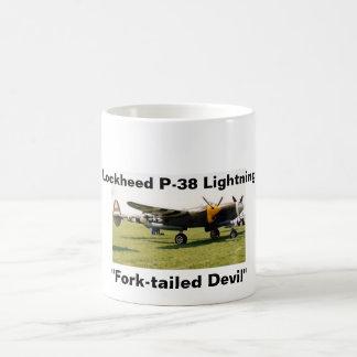Caneca De Café Relâmpago de Lockheed P-38