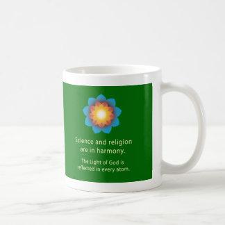 Caneca De Café Religião da ciência da harmonia