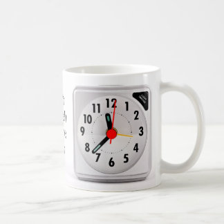 Caneca De Café Relógio de ponto do almoço