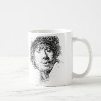 Caneca De Café Rembrandt na manhã