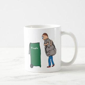 Caneca De Café Remova os desperdícios
