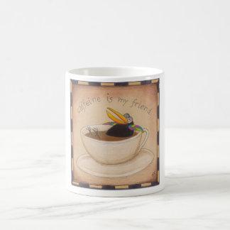 Caneca De Café Reparo da cafeína do corvo