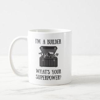 Caneca De Café Reparo do trabalhador manual do construtor ele