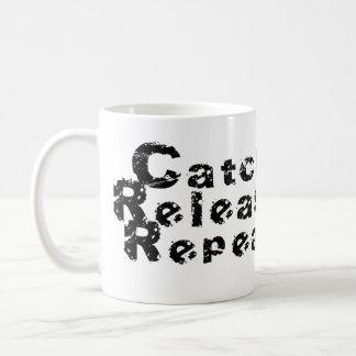Caneca De Café Repetição da liberação da trava