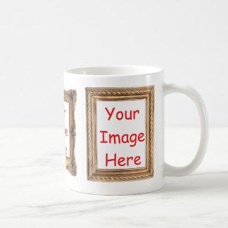 Caneca De Café Represente imagens moldadas - para adicionar 3