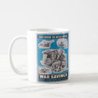 Caneca De Café Reprodução do cartaz britânico do tempo de guerra