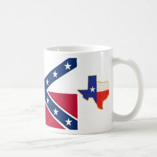 Caneca De Café República da bandeira de Texas, texas, a república