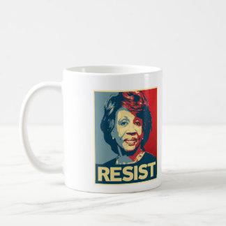 Caneca De Café RESISTA - o poster da propaganda das águas de