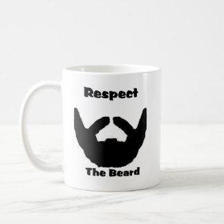 Caneca De Café respeite a barba