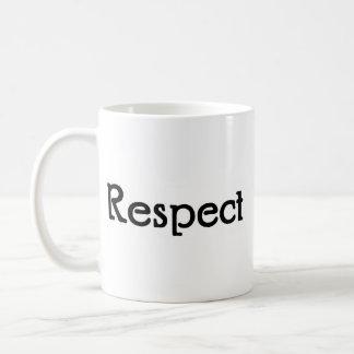 Caneca De Café Respeito