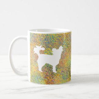 Caneca De Café Respingo pequeno do cão da chihuahua
