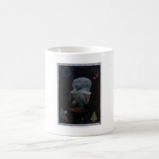 Caneca De Café Retrato astrológico da fantasia de Paul Klee