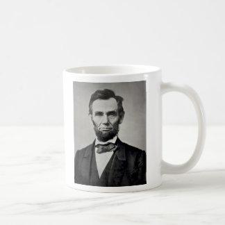 Caneca De Café Retrato de Abraham Lincoln Gettysburg