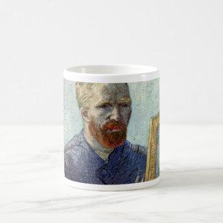 Caneca De Café Retrato de auto de Van Gogh