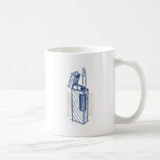Caneca De Café Revestimento do esmalte do laquer do isqueiro de
