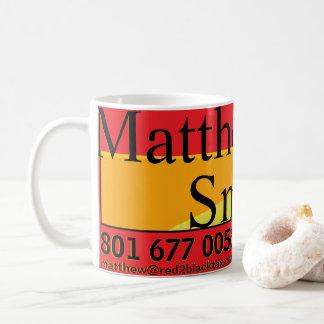 Caneca De Café Revisor oficial de contas de Matthew Smith R2B