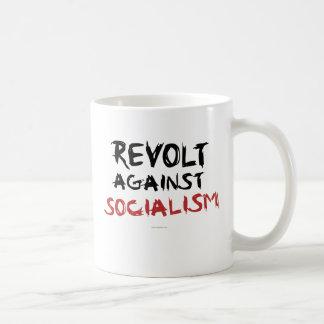 Caneca De Café Revolta contra o drinkware do socialismo