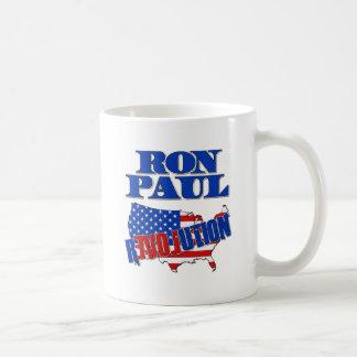 Caneca De Café Revolução de Ron Paul