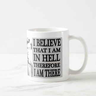 Caneca De Café Rimbaud no copo do inferno
