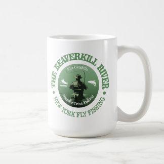 Caneca De Café Rio de Beaverkill (pesca com mosca)