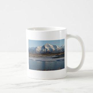 Caneca De Café Rio máximo pioneiro da montanha e do Matanuska