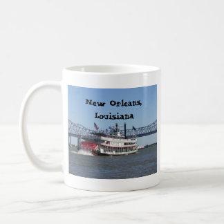 Caneca De Café Riverboat em Nova Orleães