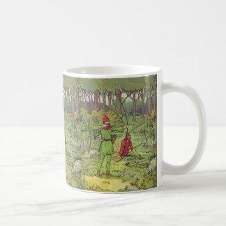 Caneca De Café Robin Hood na floresta