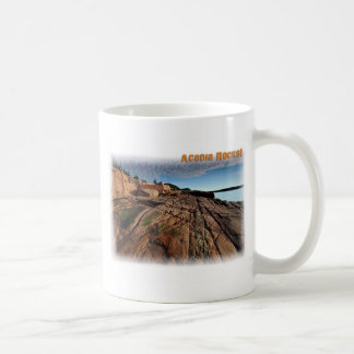 Caneca De Café Rochas do Acadia!