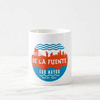 Caneca De Café Rochoso De La Fuente para o Mayor