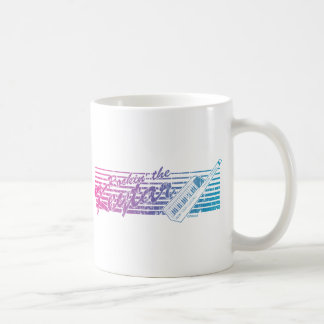 Caneca De Café Rockin o Keytar