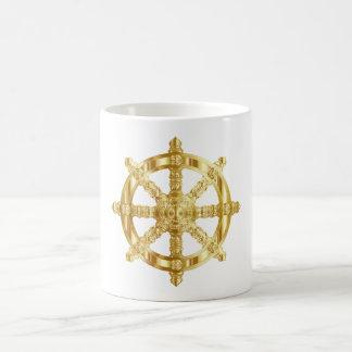 Caneca De Café Roda dourada de Dharma
