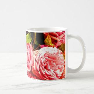 Caneca De Café rosas persas 2