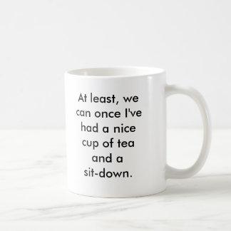 Caneca De Café Rosie a ruptura de chá do rebitador