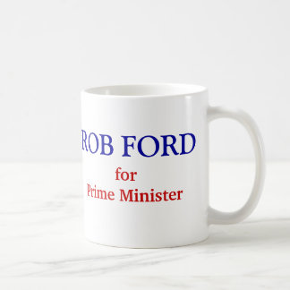 Caneca De Café Roubo Ford para o primeiro ministro
