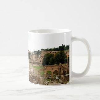 Caneca De Café Ruínas do fórum romano