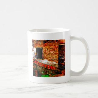 Caneca De Café Ruínas em Pompeii Italia