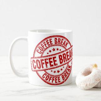 Caneca De Café Ruptura de café