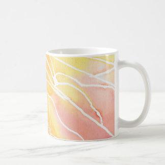 Caneca De Café Ruptura marmoreada por do sol