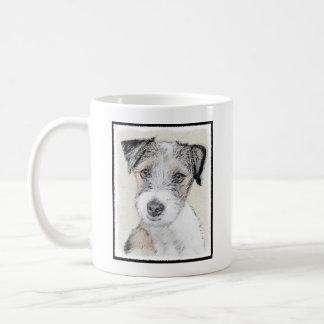 Caneca De Café Russell Terrier (áspero)